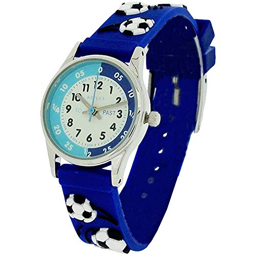 Reflex Time Teacher Blue 3D Football Watch REFK0007 + Telling Time Award