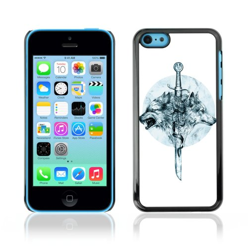 CelebrityCase Polycarbonate Hard Back Case Cover for Apple iPhone 5C ( Game Of Thrones Sword )