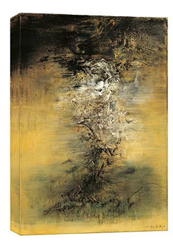 Stampe su tela di Zhaowuji5 della parete di arte, pitture a olio di alta qualità per la decorazione domestica (60cm x 90cm) (Unframed)