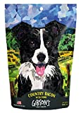 Gibsons Country Bacon with Pork - Human Grade USA Soft Jerky Dog Treats, 3 oz