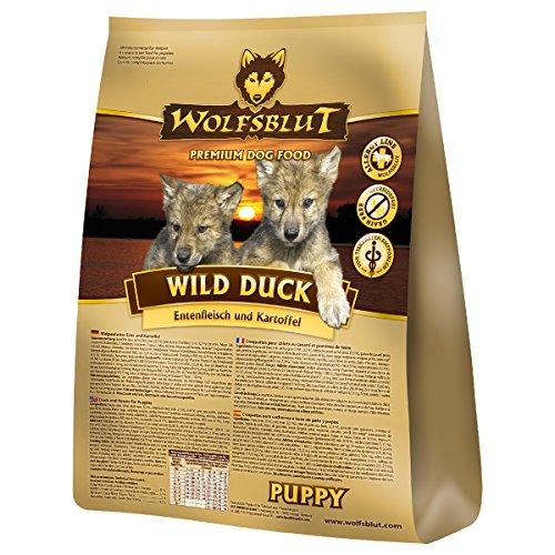 Wolfsblut | Wild Duck Puppy | 2 x 15 kg | Ente | Trockenfutter | Hundefutter | Getreidefrei