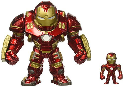 Marvel Avengers: Age of Ultron – 6″ Hulkbuster & 2″ Iron Man (M132) Metals Die-cast collectible toy…
