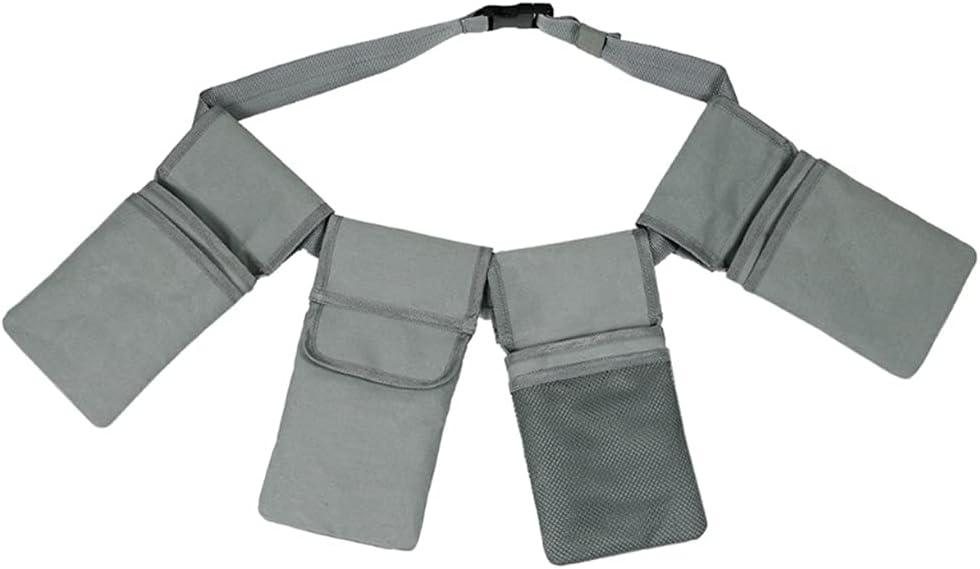 UXZDX CUJUX Waist Belt Bags Waist Tool Organizer with 4 Pockets
