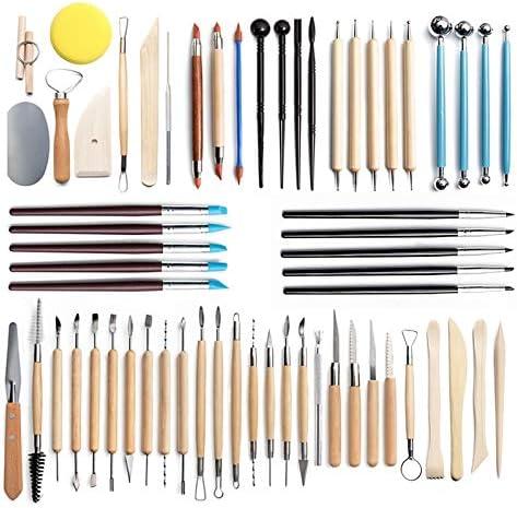 wangtao 5% OFF Pottery Tools Max 43% OFF Clay Sculpting Pieces Set P 61 of