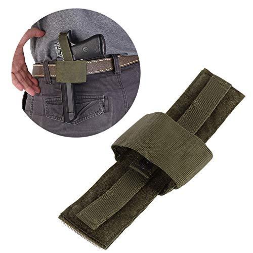 Comfortable Concealed Waist Gun Holder Lightweight Compact Double-Ended Pistol Handgun Pouch Modular Universal Holster Sheath Tool (Color : OD)