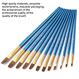 Immagine 2 12 pezzi pennelli pittura set