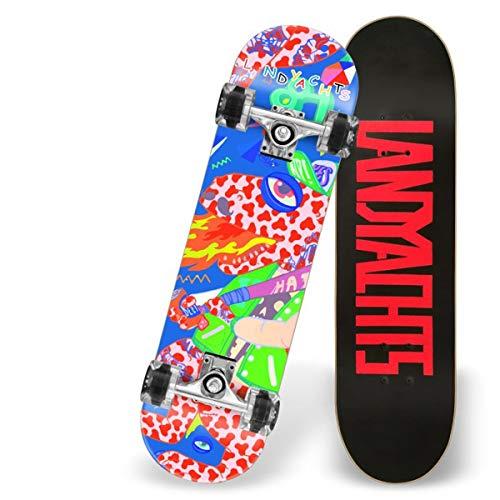 Love your life Anfänger Skateboards Komplette 31 Inches of Funkelnde Drache-Skateboard