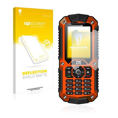 upscreen Entspiegelungs-Schutzfolie kompatibel mit ZTE R28 – Anti-Reflex Displayschutz-Folie Matt