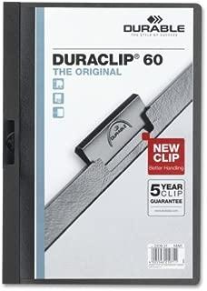 Wholesale CASE of 25 - Durable Duraclip Report Covers-DuraClip Report Cover, 60 Sheet Capacity, 11