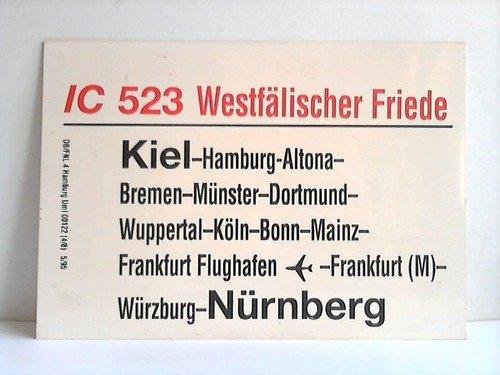 IC 523 Westfälischer Friede / IC 826 Theodor Storm