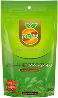 Etolix Reg-I-Men (105 gr.)  Weight Loss Post Detox  Personalized Concentrated  100 % Natural   Made in U.S.A   Caffeine an...