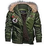 Thermal Fleece Pilot Jackets Plus Size Windbreaker Coat jaqueta masculina