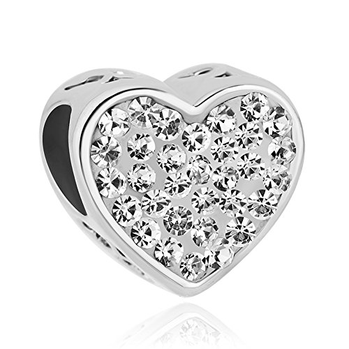 Uniqueen Jewellery Birthstone Mum Mom Heart Charms Beads...