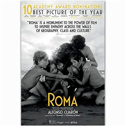 Roma Movie Alfonso Cuaron New Film 2018 Love Painting Art Poster Print Canvas Home Decor Picture Wall Print -60x80cm No Frame