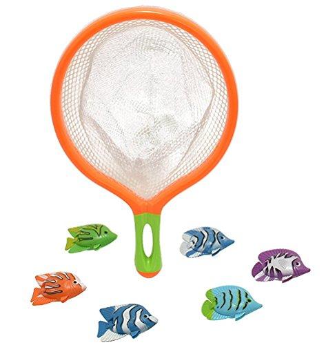 Toyland® M.Y Splash Catch Das Fisch-Tauchspiel mit 6 Fish & Net