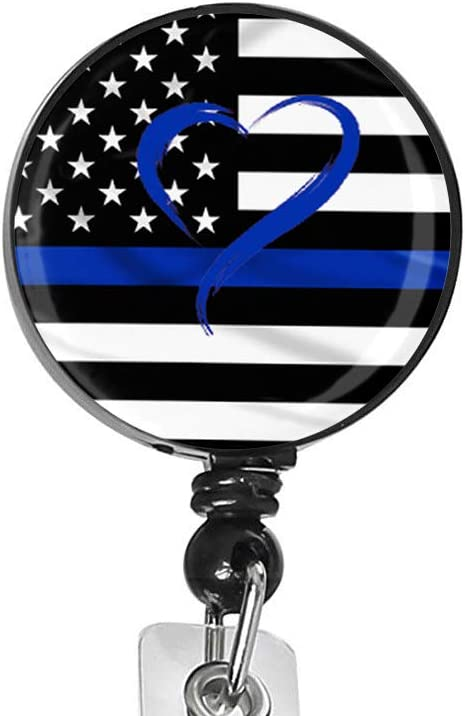 Blue Line American Flag It is very popular Nurse Badge Name Badg Custom All items free shipping Id Tag Card