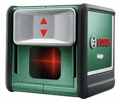 Foto di Bosch Quigo - Laser a linee incrociate con Supporto Universale (Raggio d'azione 7 m)