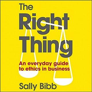 The Right Thing copertina