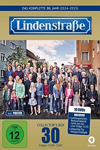 Die Lindenstraße - Das komplette 30. Jahr, Folgen 1509-1560 (Collector's Box, 10 Discs) [Limited Edition]