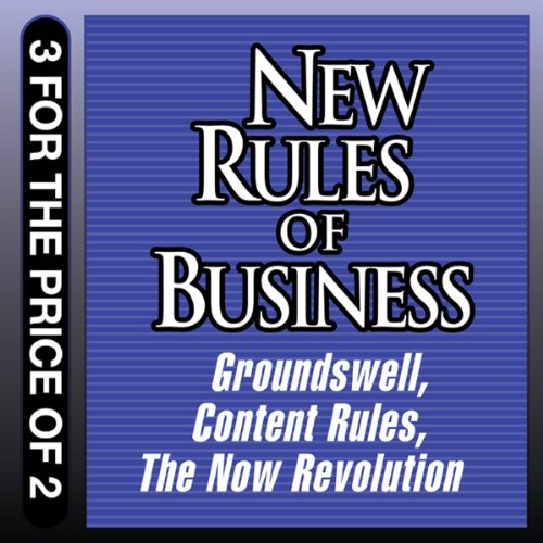 New Rules for Business audiobook cover art