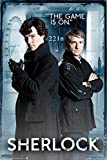 Sherlock Poster The game is on (61cm x 91,5cm) + Ü-Poster