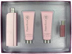 Perry Ellis 18 by Perry Ellis Women's Gift Set -- 3.4 oz Eau De Parfum Spray + 3 oz Shower Gel + 3 oz Body Lotion + .25 oz Mini EDP - 100% Authentic