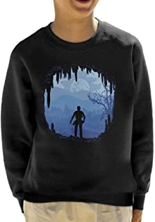 Cloud City 7 Hideout Uncharted 4 Kid's Sweatshirt