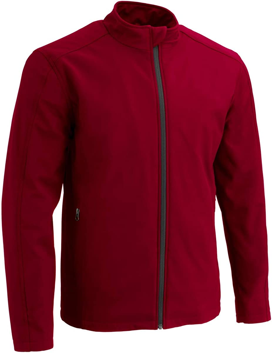 Milwaukee Leather MPM1763 Men's Red Waterproof Lightweight Soft Shell Jacket