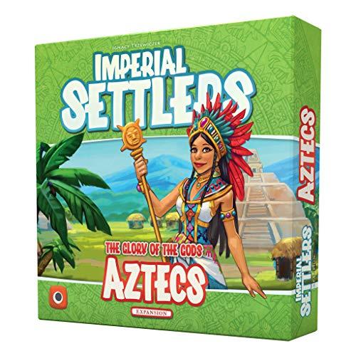 Portal Games Imperial Settlers Aztecs Game, Multicolor