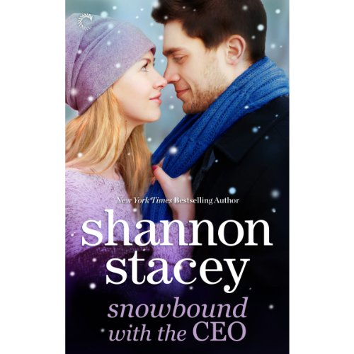 Snowbound with the CEO audiobook cover art