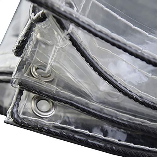 JNYZQ PVC Impermeable, Sol, Polvo, Lluvia Cortina de Lona: Adecuada para Camiones, Bicicletas, Botes, Parabrisas de balcón Cortinas de Lona Impermeables, Puestos de Comida, Lona 730 g / m2