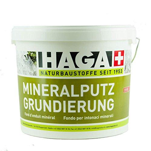 HAGA Mineralputzgrundierung 10 kg mit Körnung