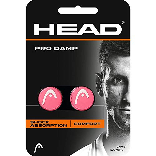 HEAD-Pro Damp Tennis Dampener (Pink/White)
