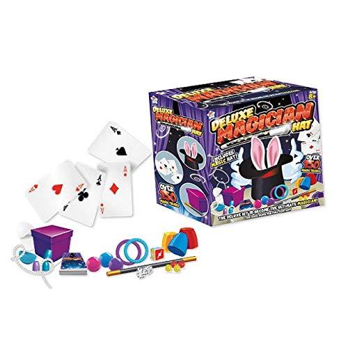 The Home Fusion Company Deluxe Magos Sombrero Magia Juego 145 Trucos Infantil Niños Juego Juguetes Juego Illusions
