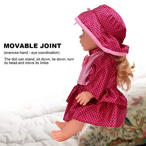 Brinquedo de boneca, brinquedo de boneca elétrica, brinquedo de boneca, presente de meninos para crianças para crianças(SY011-6 color box version)
