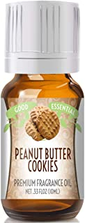 Peanut Butter Cookies Scented Oil by Good Essential (Premium Grade Fragrance Oil) - Perfect for Aromatherapy, Soaps, Candl...