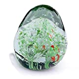 Panku Latto Design Premium Glass Paper Weight Assorted Design (Pack of 1)