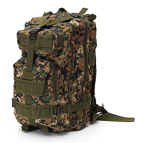 Minetom Jungen Herren 30L Camouflage Rucksack Laptop-Rucksack Rekkingrucksäcke Für Outdoor Wandern Camping Trekking Jagd Camouflage04 One Size