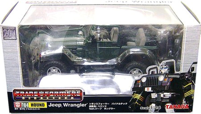 suministro directo de los fabricantes Transformers Hound Wrangler Wrangler Wrangler BT-04 (japonesas Importaciones)  muy popular