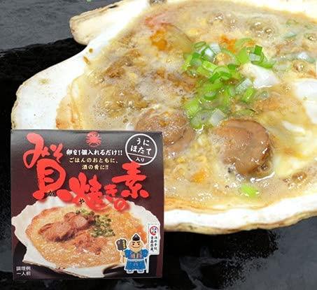 貝焼きみそ 貝焼きの素 70g×5缶 ほたて・ウニ入り 青森の郷土料理 缶詰