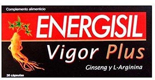Energisil Vigor Plus con Ginseng y Arginina 30 cápsulas de Pharma Otc