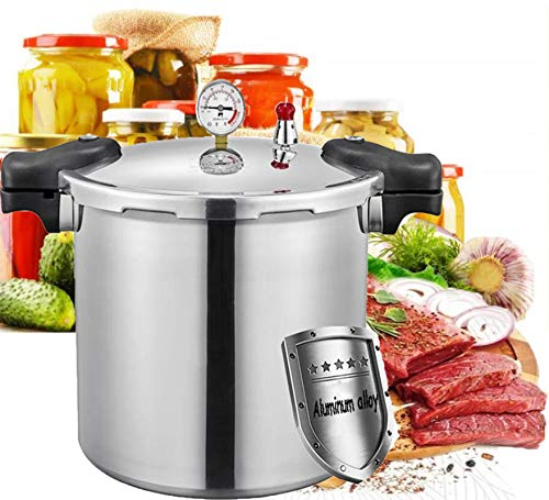 Cocina profesional Olla de gran capacidad 25litros Olla a presión super rápida-Con cesta...