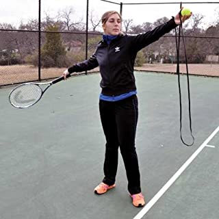 Oncourt Offcourt Toss Fixer - Rapidly Improve Your Serve Toss Consistency/Tennis Training Aid