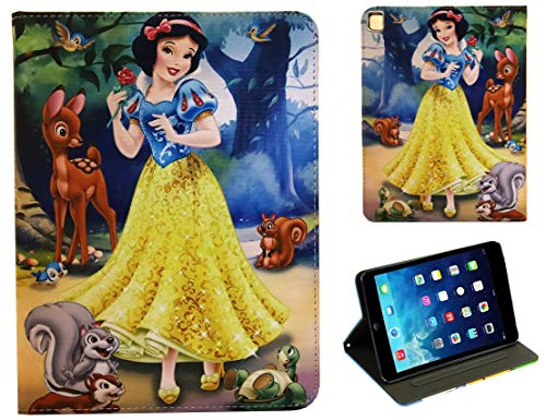 For Apple iPad Pro 9.7 / iPad Pro 9.7'' / iPad 9.7 / iPad Air 1 2 Snow White And The Seven Dwarfs Smart Disney Case Cover