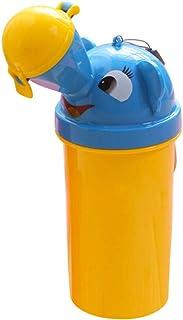 Kinder T/öpfchen Tragbare Urinal Flasche Nottoilette Auslaufsichere Baby Toilette Babytopf Kinder Urinaltraining Catrtoon Notfall-Toilette Auto Reise Camping Unterwegs Urinflasche f/ür Junge M/ädchen