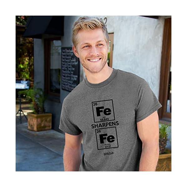 Kerusso Men's Iron Sharpens Iron T-Shirt – Sport Grey –