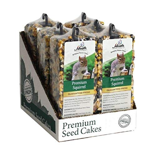 Heath Outdoor Products SC-42 14-Ounce Premium Squirrel Seed Cake Bar,...