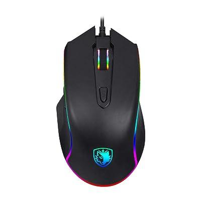 [Premium Version] SADES Gaming Mouse Wired -Scy...
