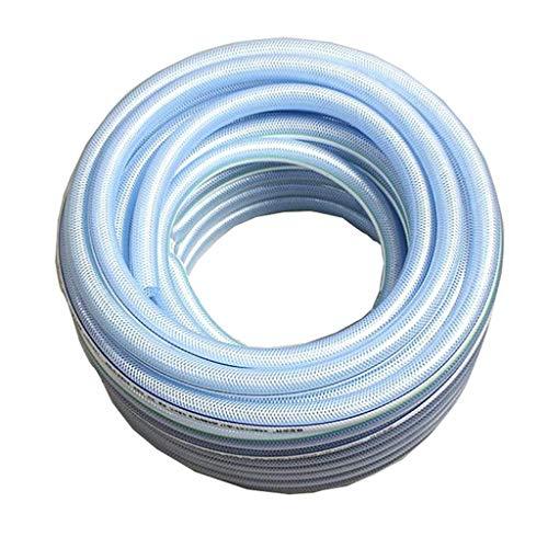 ZTMN tuinslang, 1 inch (25 mm) in diameter glasvezel Plus draad kunststof PVC pijp antivrieszuur en alkali resistente hoge druk waterpijp (grootte: 25 m(82ft))