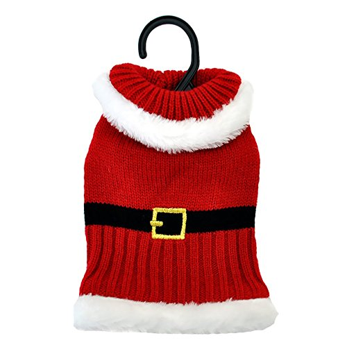 Otis Claude Fetching Fashion Holiday Santa Sweater XSmall